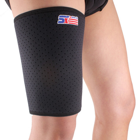 SX650 Sports Badminton Elastic Stretchy Thigh Brace Support