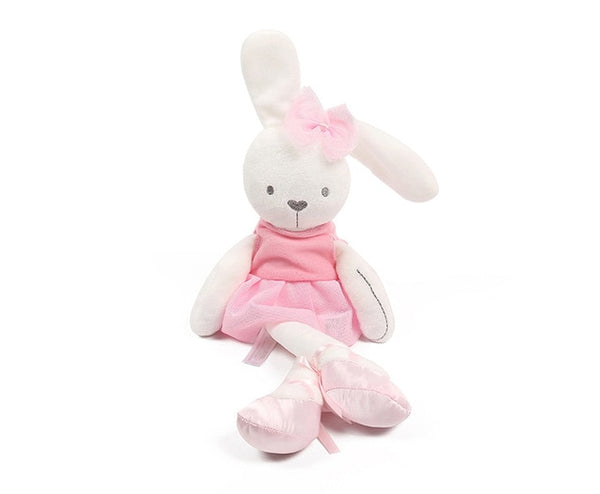 Cute Rabbit with Pink Dress Baby Plush Toy