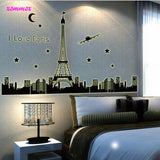 """I Love Paris"" Wall Sticker"