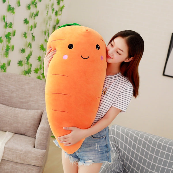 Stuffed Carrot Stuffed With Down Cotton Super Soft Pillow