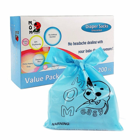 Mom Easy Easy-Tie 200 Counts Baby Disposable Diaper