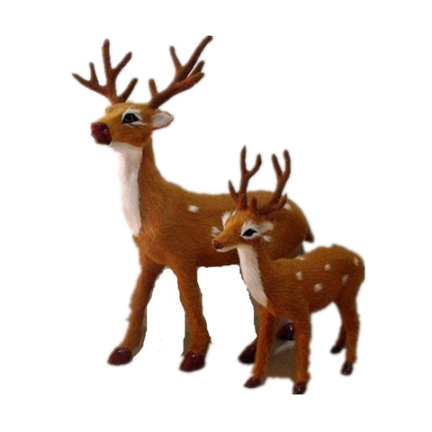 Simulation Deer Plush Toy Sika Deer Toy