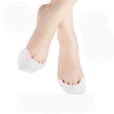 2pcs Silicone Gel Toe Pads Ballet Hallux Valgus Orthotics Brace Shoes Pads