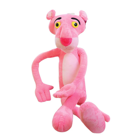 Cute Pink Naughty Leopard Pink Panther Plush Stuffed Toys
