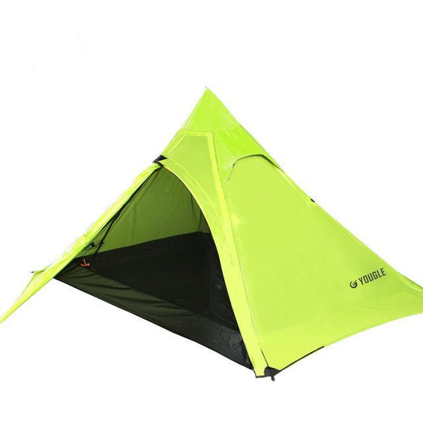 20D Double Layer 3 Men Three Person Backpacking Tent