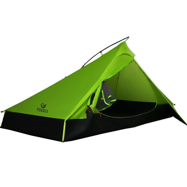 20D One Layer 2 Men Two Person Backpacking Tent