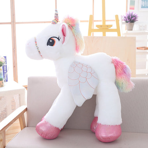 Huge New Unicorn Stuffed Animals Soft Doll