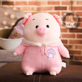 Lovely Colorful Pig with Clothes Toys
