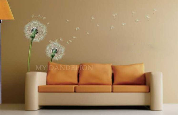 Vinyl Green Real Nature Beauty Mural Wall Sticker Decal
