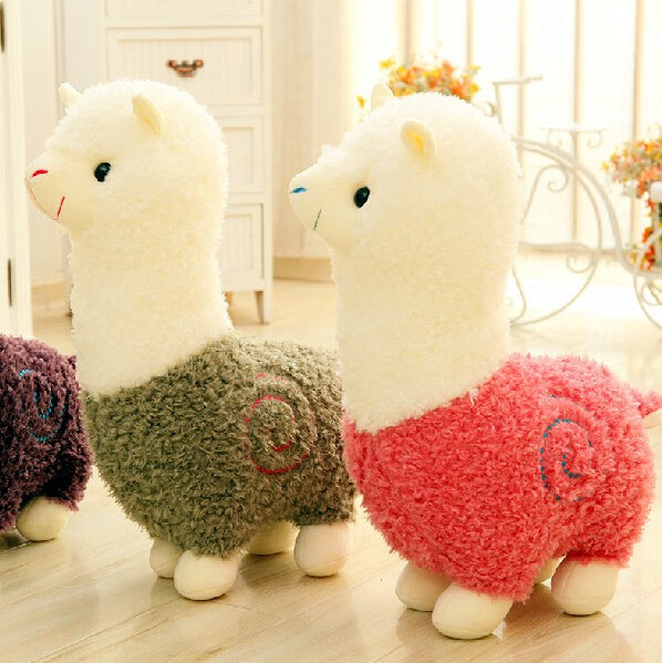 Cute Alpaca Plush Toys Doll Staffed Alpaca Animal Sheep