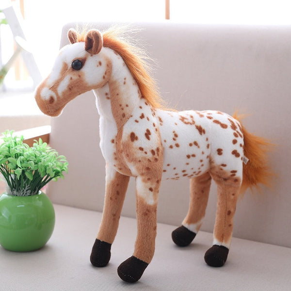 Big Simulation Horse Plush Toys
