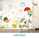 Rain, the third generation of fashion fun wall stickers