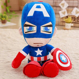 Cartoon Captain America Iron Man Spiderman Plush Toys