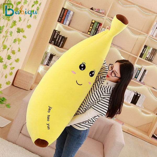 Babiqu Huge Soft Banana Boyfriend Pillow for Girls