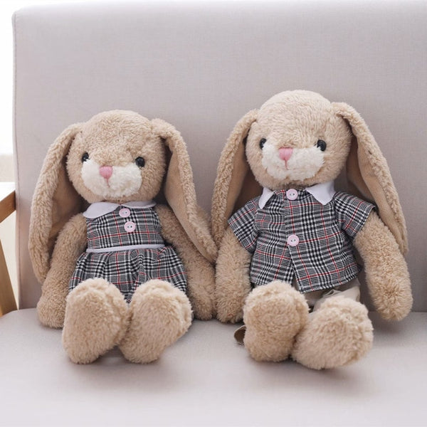Kawaii Couple Rabbit Plush Toys