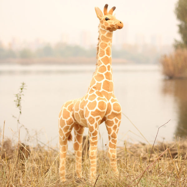 Giraffe Plush Toys Soft Animal Giraffe Doll Cute Stuffed Animal Dolls