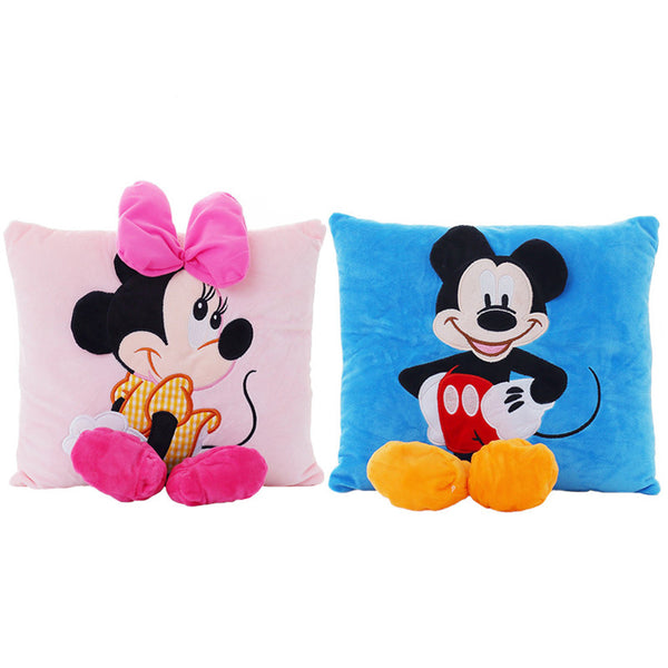 Mickey Mouse and Minnie Plush Toy
