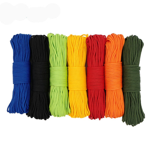 100FT 3.5mm 300LB 4 Strands Paracord Parachute Cord