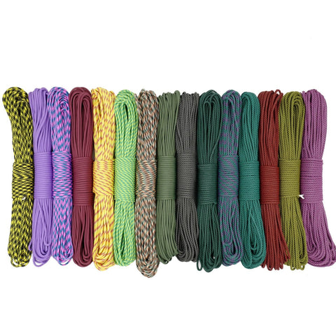 New 550 LB 50FT 100FT 4mm Dia 9 Strand Paracord Parachute Cord