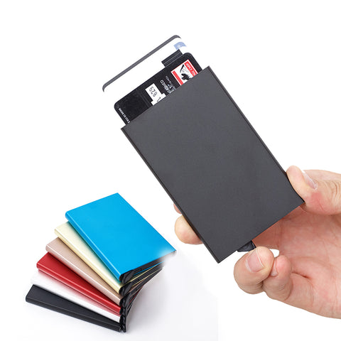 RFID Blocking Credit Card Holder Slim Minimalist Wallet