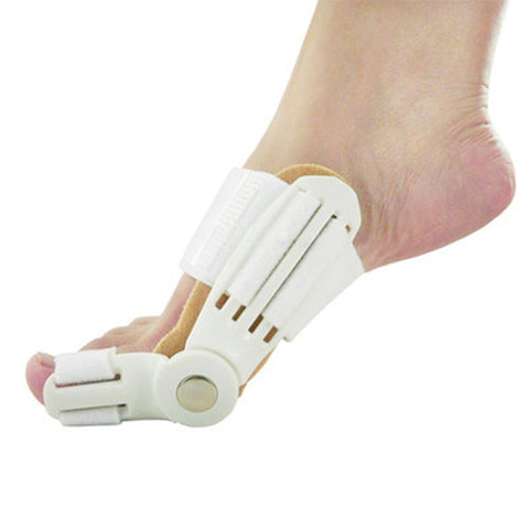 1Pair Big Toe Bunion Splint Straightener Corrector Foot Pain Relief Device