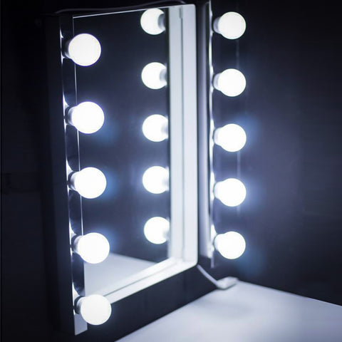10pcs LED Modern Dressing Table Mirror Vanity Light