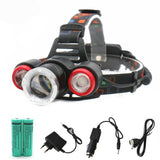 10000LM Led Headlight Rechargeable Headlamp
