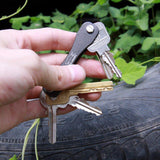 Compact Key Holder | Keychain Organizer