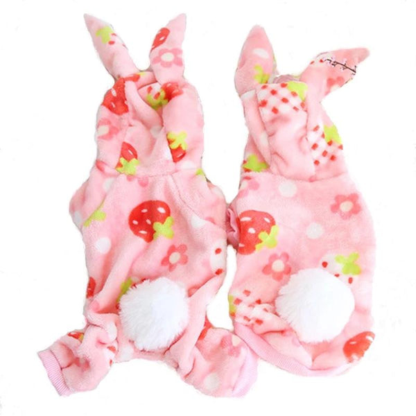 Warm Winter Pet Dog Cat Pajama Puppy Jumpsuit