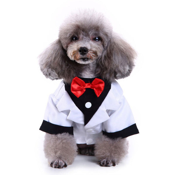 Puppy Dog Wedding Suit Dress For Dogs
