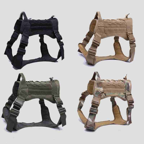 New Army Tactical Dog Vest Military Training Dog Vest Clothing