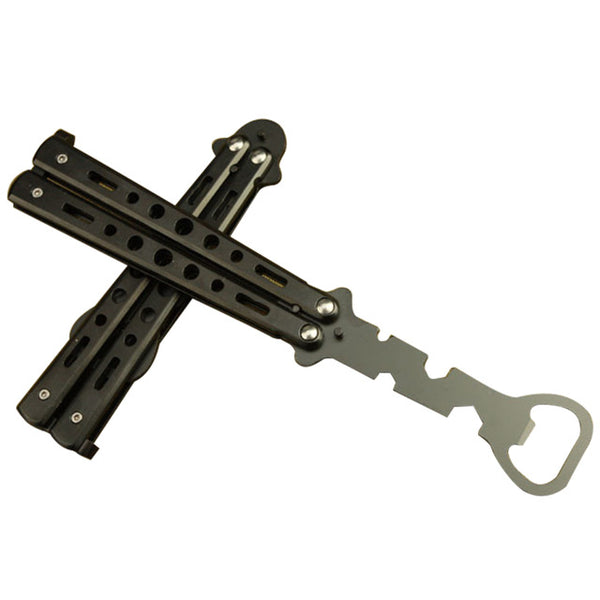 1PC Bottle Opener Butterfly Knife