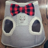 Summer Breathable Mesh Pet Dog Bow Tie Harness