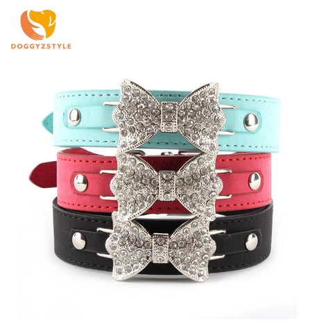 Luxury Diamond Bling Bowknot Neck Strap