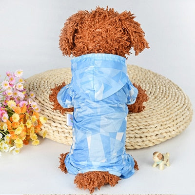 Pet Dog Raincoat Waterproof Clothes For Dog
