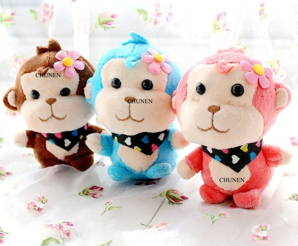 4Colors, Little Cute New Stuffed key chain Plush Toys