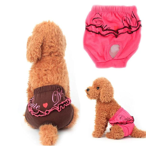Dog Physiological Pants XS-L Diaper Sanitary