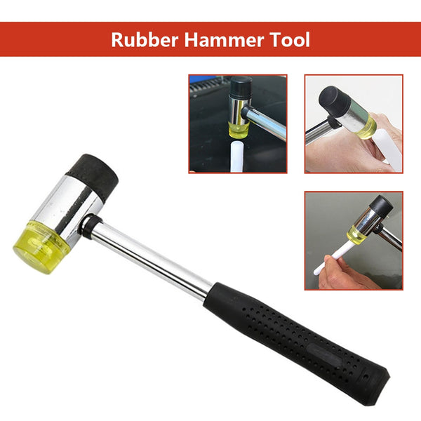 "10"" Length 25MM Double Face Soft Touch Hammer"