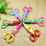 New 6 PCS Lace Scissors Metal and Plastic