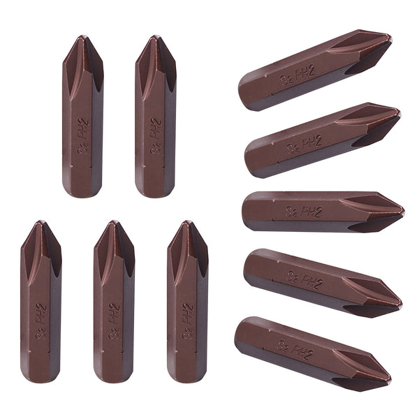 Vanadium Steel Cross Magnetic Screwdriver Bits Hand Tools