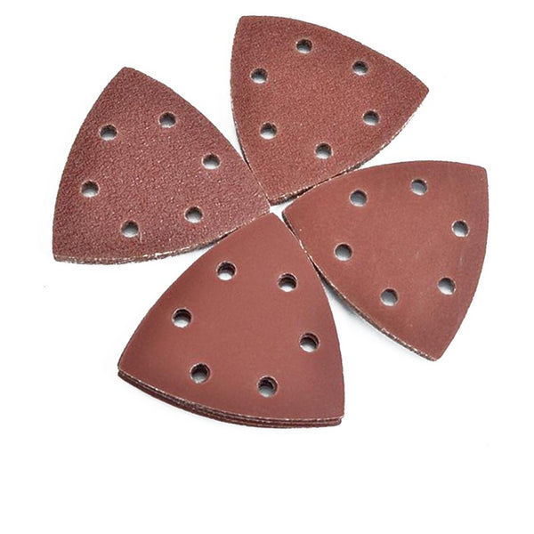 25pcs Sanding Pads Mouse Sandpaper Disc