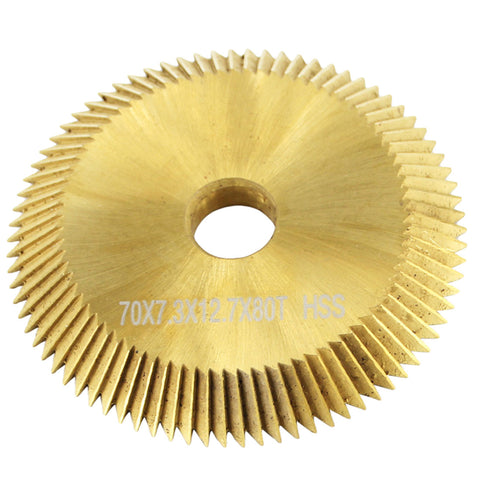 70x7.3x12.7mm High Speed Steel Cutting Blade