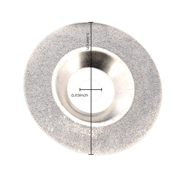 100mm 4 inch Diamond coated Grinding Polishing Grind Disc