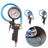 220PSI Car Tire Air Pressure Gauge Dial Meter
