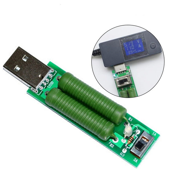 1PC USB Mini Discharge Interface Load Resistor