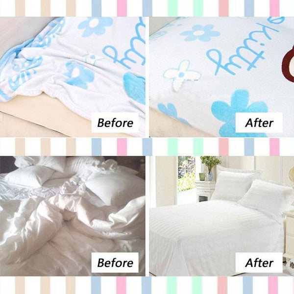 Stable Bed Sheet Fasteners (4Pcs)