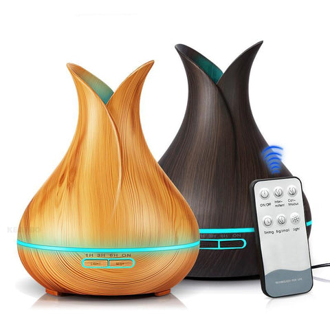 Remote Control 400ml Aroma Lamp | Essential Oil Diffuser