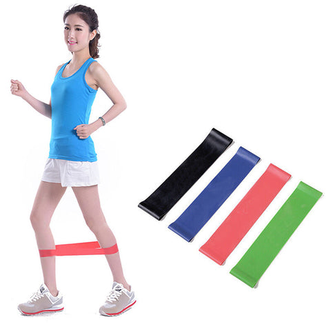 4pcs/Set Heavy Duty Resistance Band Loop