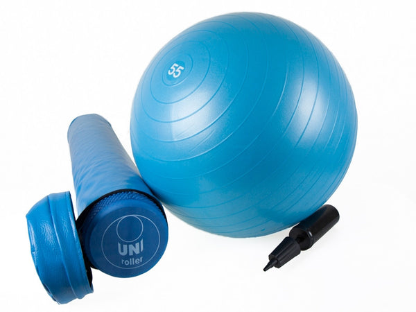 Foam Roller (90cm) with Gym Ball