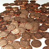 Copper Pirate Coins in Varying Quantities